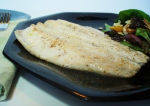 Pan-Fried Trout and Winner of Giveaway!