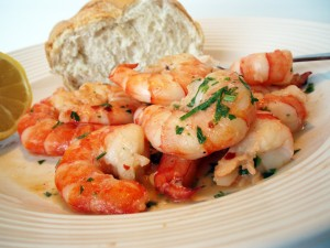 Kids in the Kitchen: Shrimp Scampi
