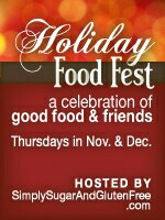 Holiday Food Fest – Winner of Giveaway!