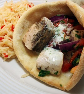 Kids in the Kitchen: Swordfish Souvlaki