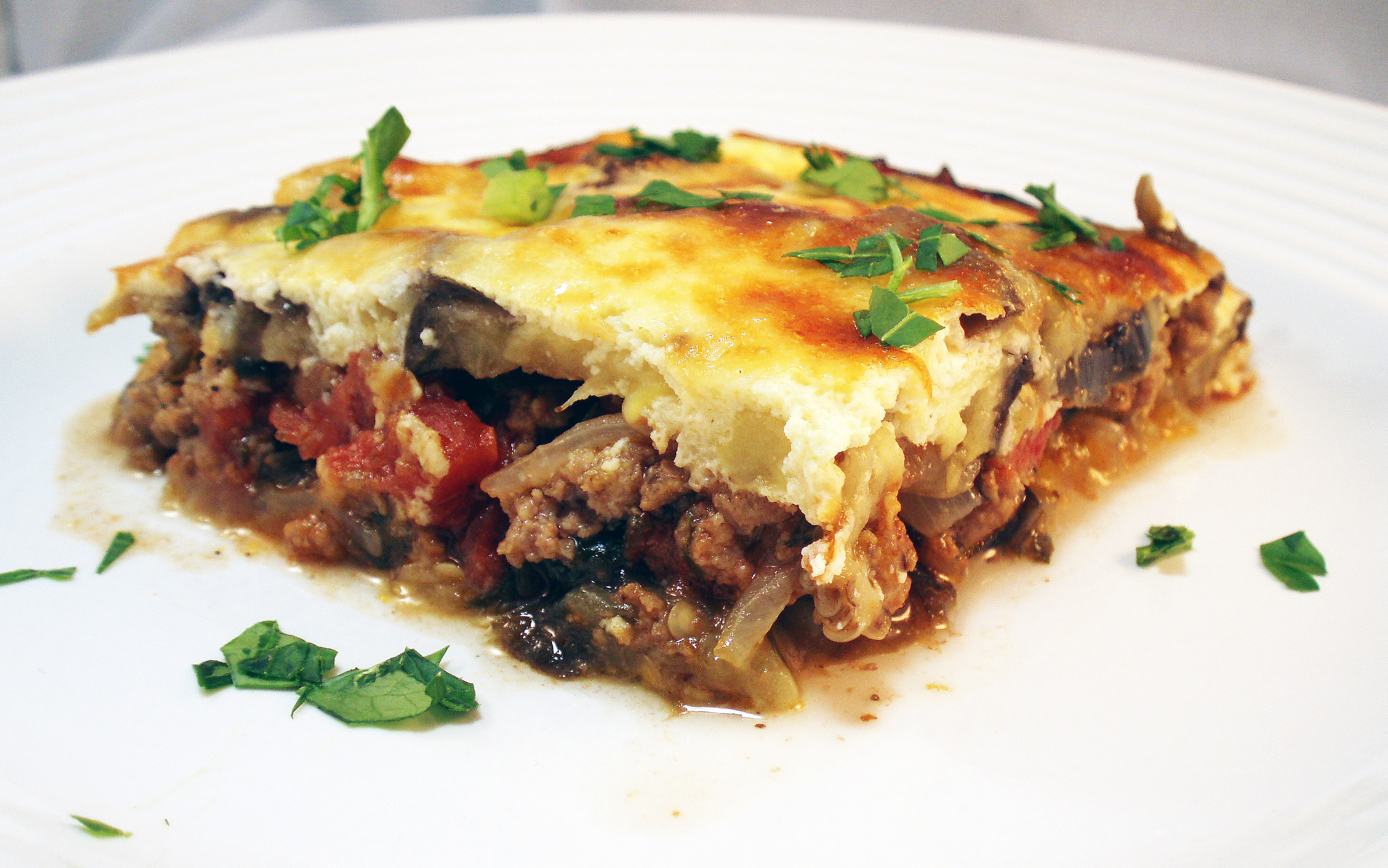 ... moussaka lamb moussaka greek lamb potato and eggplant casserole