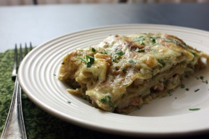 Daring Cooks: Stacked Green Chile & Grilled ChickenEnchiladas