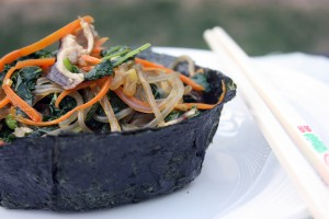 Daring Cooks: Edible Containers (Nori Bowls)