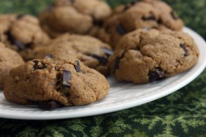 Kids In The Kitchen: Flourless Peanut Butter Chocolate Chip Cookies