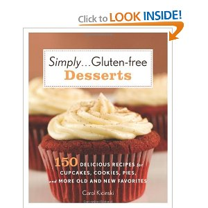 A Review and a Giveaway: Simply…Gluten-Free Desserts by Carol Kicinski