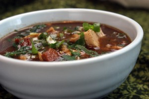 Daring Cooks: Chicken and Sausage Gumbo