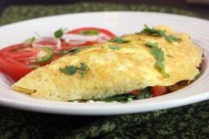 Southwestern Omelet and a Call for Recipe Testers