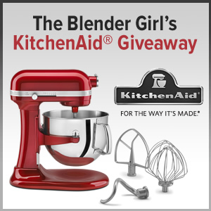 KitchenAid Mixer Giveaway & A Month of Recipes