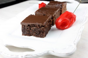 Red Savina Habanero Brownies (And a Melissa's Produce Giveaway!)