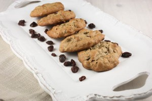 "Buckwheat & Hemp ""No-Oatmeal"" Raisin Cookies"