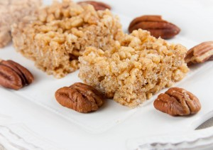 Maple-Pecan Rice Crispy Treats