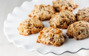 Coconut-Date Macaroons