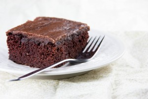 Secret Ingredient Chocolate Cake