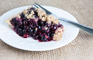 Blueberry Crumble Pie