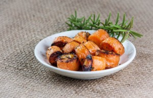 Roasted Rosemary Carrots