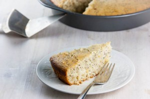Meyer Lemon Olive Oil Poppyseed Cake