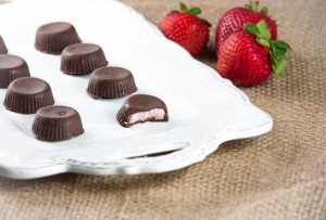 Strawberry-Coconut Butter Cups