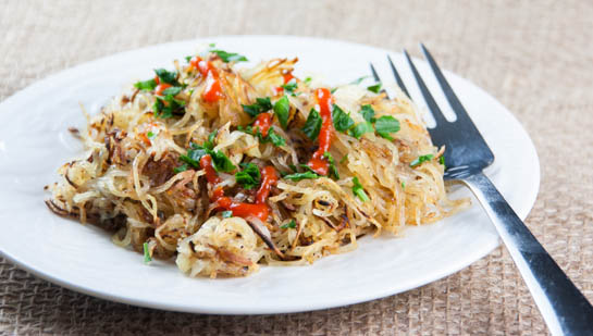 spiralized hash browns blog