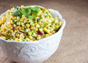 Hatch Chile and Corn Salsa