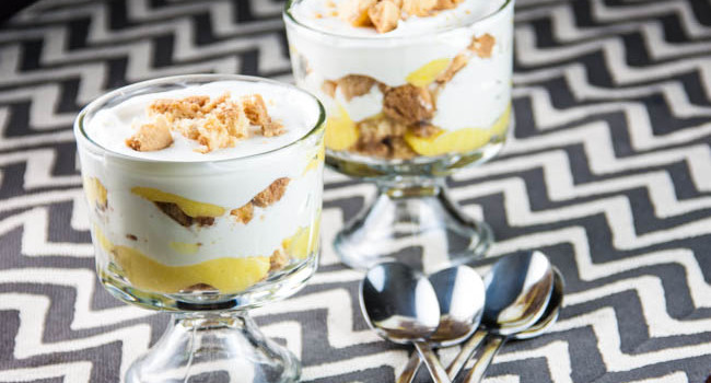 Ginger Lemon Shortbread Parfait